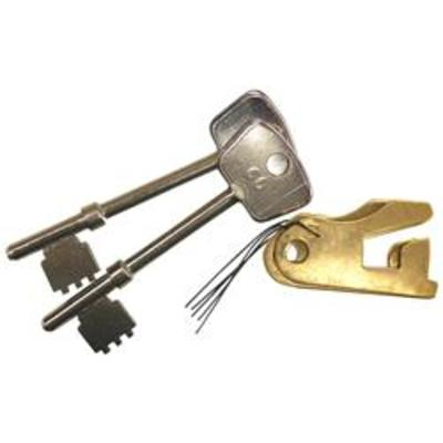Lever set to suit the Willenhall M8 and M4 - Lever set keyed alike