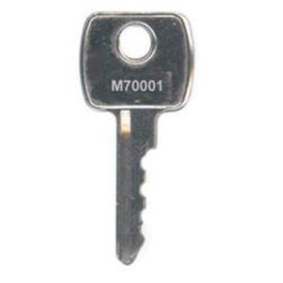 M70 Series Keys to Code M70001-M71000 - M70 Series Keys to Code M70001-M71000