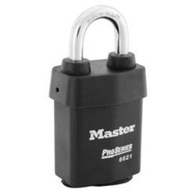 MASTER LOCK Pro - Series Padlock - 53mm Open Shackle - 6621WO