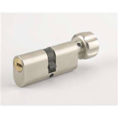 MT5 Mul T Lock Oval Turn Cylinders - T35x35 70mm Brass