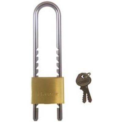 Master 1950 Adjustable Brass Padlock - Keyed to differ