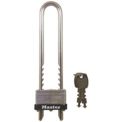 Master 517EURD 45mm Adjustable Long Shackle Padlock - Key to differ