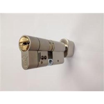 Mul T Lock BS TS007 3 Star Integrator Euro Thumb Turn Cylinder - T35-35