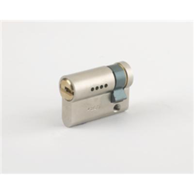 Mul T Lock Garrison Half Euro Cylinders - G7 Half Euro 40.5mm 30-10 Satin