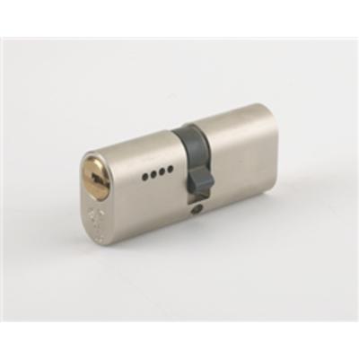 Mul T Lock Garrison Oval Cylinders - Garrison Oval 35-35 70mm Satin Steel