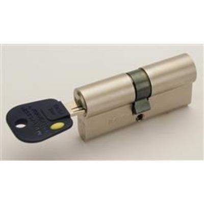 Mul T Lock Integrator Euro Double Cylinders - Integrator 31-31 62mm Satin Steel