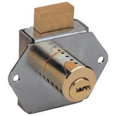 Mul T Lock Interactive+ Drawer Deadbolt Nickel - Drawer Locks