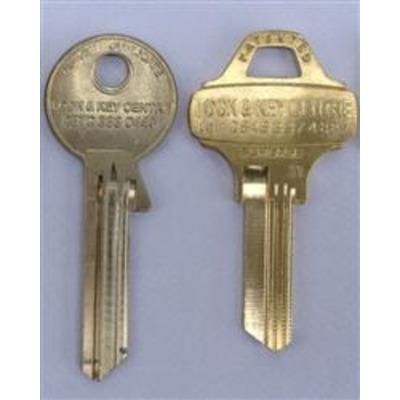 NN, XX & ZY Restricted key cutting - NN Keys