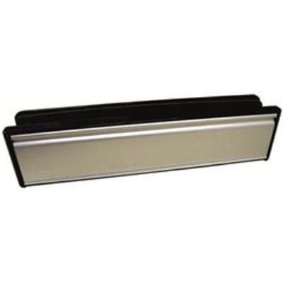 Paddock Welseal 12- UPVC Telescopic Letterplate - White