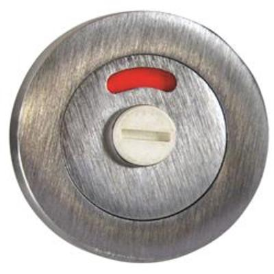 Privacy Easy Turn & Release with Indicator - Brass (PB)