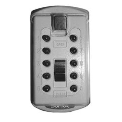 SUPRA KIDDE 001004 Slim Line Key Safe - GRY Visi