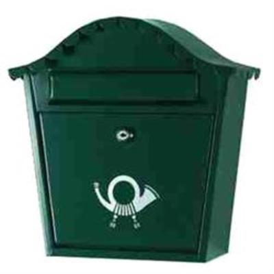 Sirocco Postbox - Letterbox - Black