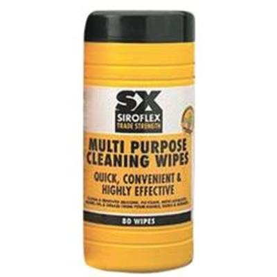 Siroflex Tub of 80 Industrial Solvent Wipes - Industrial Wipes