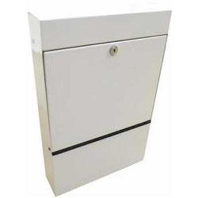 Slimline Anti Arson Internal Letterbox - Grey