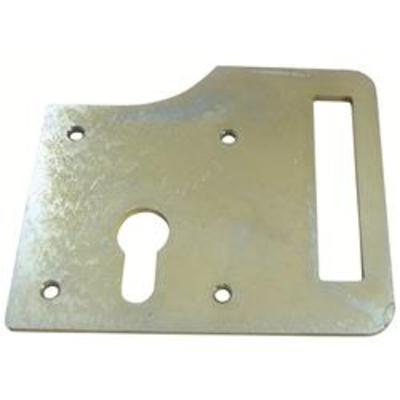 Slotted Lockplate for Gatemaster Euro Deadbolt - Lockplate