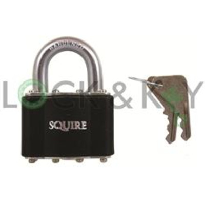 Squire 30 Series Stronglock Standard Shackle Padlock - Key to differ