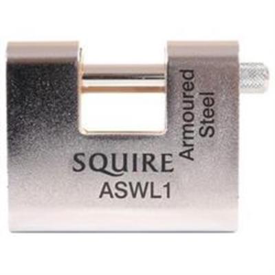 Squire ASWL Armoured Shutter Padlocks - 60mm Shutter Padlock
