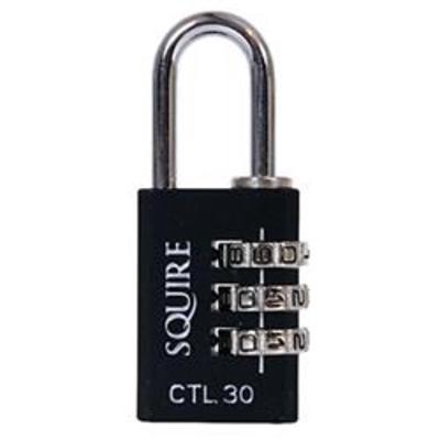 Squire CTL30 Combination Padlock - SingleSquire CTL30 Combination Padlock - Single