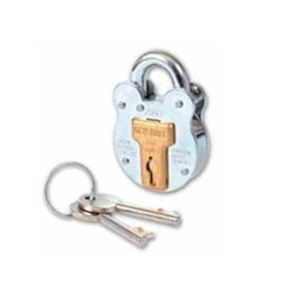 Squire Old English Steel Padlock - Key to differ