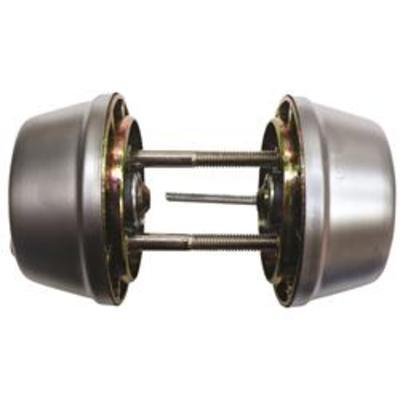 TESA 517 Double Key Deadbolt - Brass (PB)