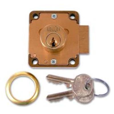 UNION 4106 Cylinder Straight Cupboard Lock - 50mm PL KD Bagged