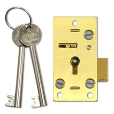UNION 4146 Straight Cupboard Lock - 64mm PL KD Bagged