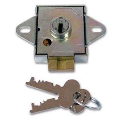 UNION 4348 7 Lever Deadbolt Locker Lock - 6mm KD