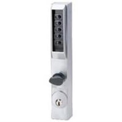 Unican 3000 Series Narrow Aluminium Door Digital Lock - 3001-26D-41 Digital Housing