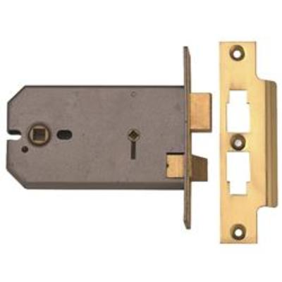 Union 2026 3 Lever Horizontal Bathroom Sashlock - 124mm (5)
