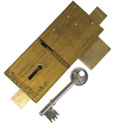 Union 21077 (KYY) 5 Lever APG Door Locks - Single deadlock