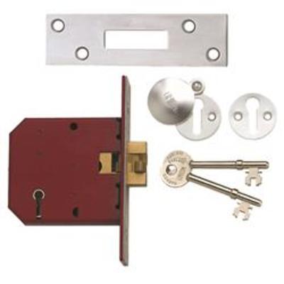 Union 2401 5 Lever Sliding Door Mortice Lock - 79mm (3)