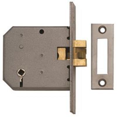Union 2426 Sliding Bathroom Lock - 77mm (3)