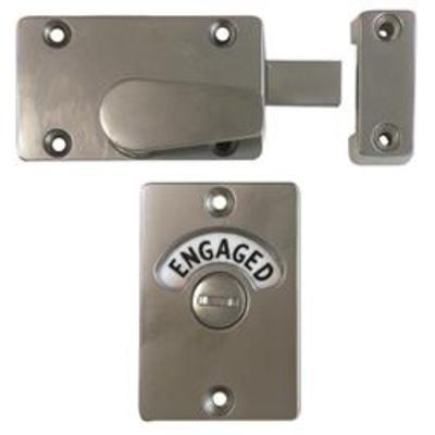 Union 8094 Bathroom Indicator Bolt - Electro Brass (EB)