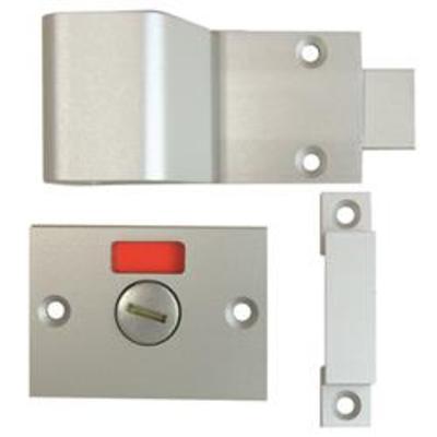Union 8098 Bathroom Indicator Bolt - Satin Anodised Aluminium (SAA)