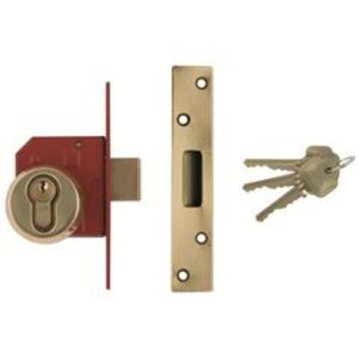 Union BS3621-2007 Euro Deadlock Complete Lockset - 67mm (2 ½)