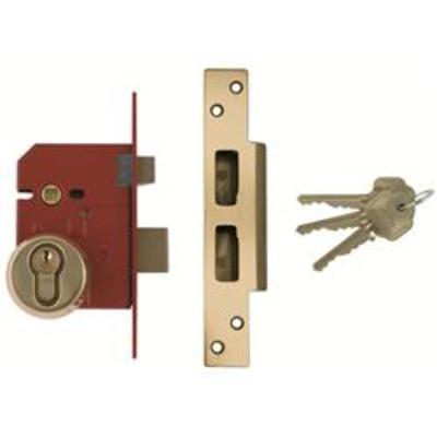 Union BS3621-2007 Euro Sashlock Complete Lockset - 67mm (2 ½)