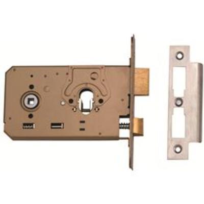 Union L2070 Horizontal Dual Profile Euro-Oval Sashlock Case - 165mm