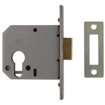 Union L2169 Euro Small Case Deadlock - 65mm (2 ½)