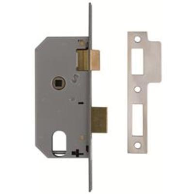 Union L2278 Double Throw Oval Sashlock Case - 69mm - Flat Faceplate