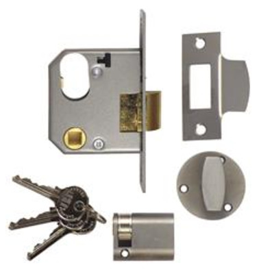 Union L2332 Oval Nightlatch Complete Lockset - 65mm