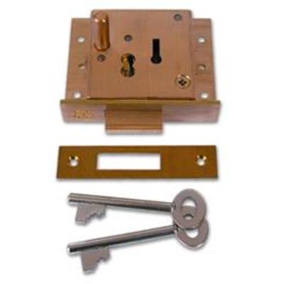 WILLENHALL LOCKS CT5-X35 Push Button Till Lock - 70mm SB N-A Boxed