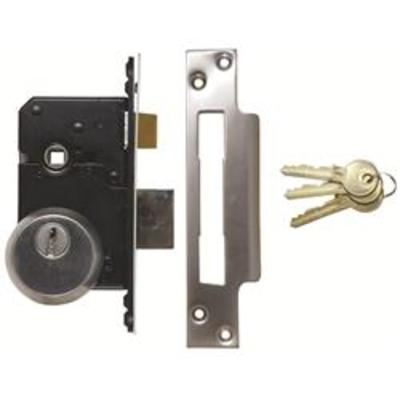 Walsall BS3621-2007 Euro Sashlock Complete Lockset - 67mm (2 ½)