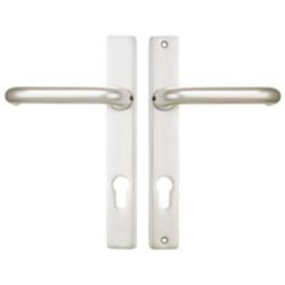 Wilka Centres-PZ- 92mm Screw Centres- 210mm Backplate- 224mm x 30mm - Satin Chrome