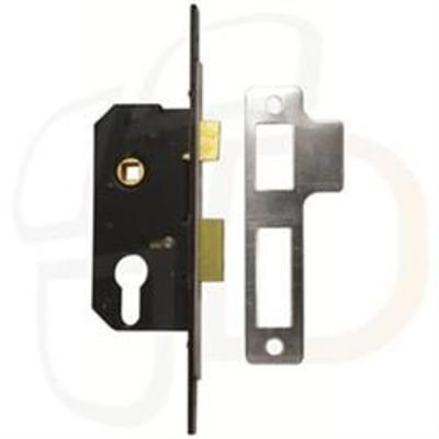 Willenhall M5 2 Euro Sashlock Case Extended 25mm Forend - 50mm (2)