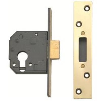 Yale 3120 High Security Euro Deadlock Case - 67mm(2 ½)